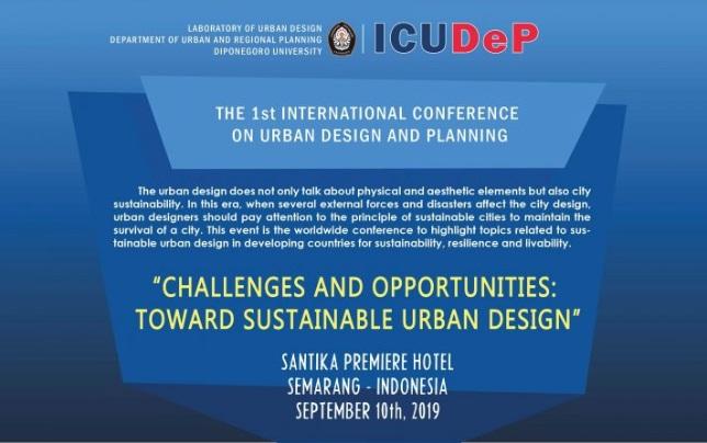 Seminar Internasional Akan Diselenggarakan Oleh Laboratorium Perancangan Fisik Wilayah & Kota Di Semarang