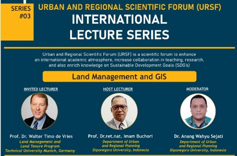 INTERNATIONAL LECTURE SERIES 2021 SERIES #03 LAND MANAGEMENT AND GIS