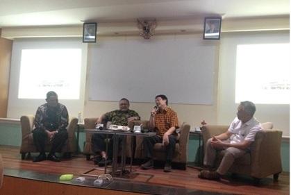 Diskusi dan Penjajakan Kerjasama Pengabdian kepada  Masyarakat Departemen PWK dengan Pemkab Tegal