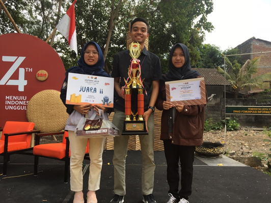 PWK Team Faculty of Engineering UNDIP Won 2nd at LKTI Festagama