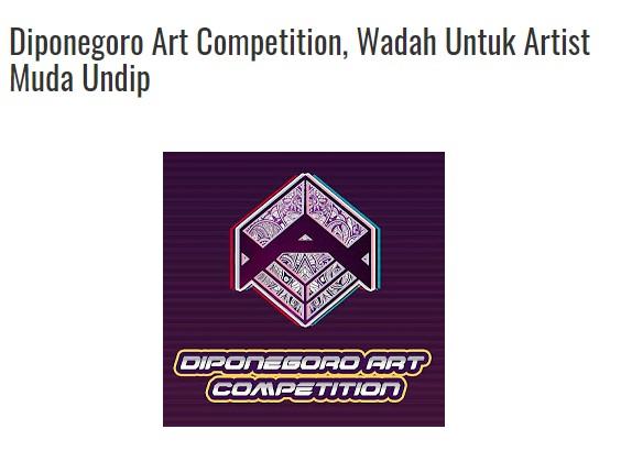 Syafiq Miftahurridho, Mahasiswa Prodi S1 PWK Angkatan 2018, berhasil meraih Juara 3 Cabang Seni Fotografi Warna Diponegoro Art Competition, Universitas Dipoengoro