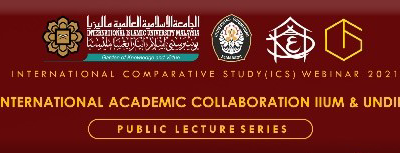INTERNATIONAL ACADEMIC COLLABORATION : KERJASAMA UNIVERSITAS DIPONEGORO  DAN INTERNATIONAL ISLAMIC UNIVERSITY MALAYSIA TERKAIT SISTEM MANAJEMEN BENCANA